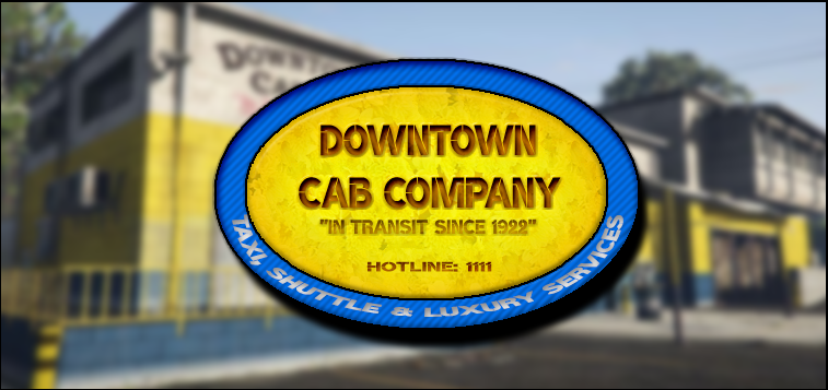 gta 5 where is downtown cab co